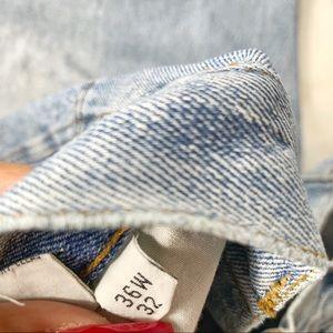 Bugle Boy Jeans - Vtg Bugle Boy Jeans Men's 36x32 Light Blue